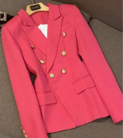 Used PINK DOUBLE BREAST SUIT/ 2XL in Dubai, UAE