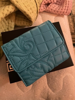 Used Authentic Versace blue wallet  in Dubai, UAE