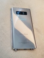 Used Samsung galaxy Note 8 gold dot on screen in Dubai, UAE