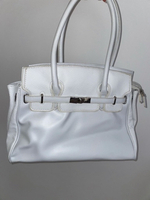Used Authentic White Carpisa Bag in Dubai, UAE