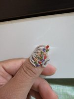 Used Kashmir real jewels ring in Dubai, UAE