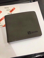 Used men leather wallet . in Dubai, UAE