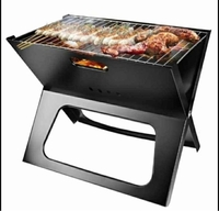 Used BBQ grill X type foldable in Dubai, UAE