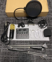 Used V8 sound card  set with microphone in Dubai, UAE