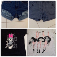 Used Two shorts and two T shirts  in Dubai, UAE