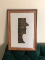 Used Handmade art with frame in Dubai, UAE