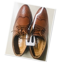 Used Formal brown shoes size 41 ♥️ in Dubai, UAE
