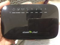 Used Etisalat router in Dubai, UAE