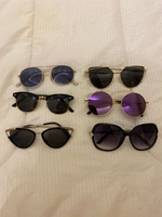 Used 6 Pair of Sunglasses  in Dubai, UAE