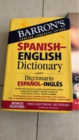 Used Spanish- English dictionary cuaderno de  in Dubai, UAE