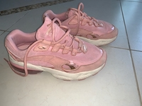 Used Puma suede pink shoes 39 size  in Dubai, UAE