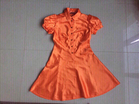 Used original jessi woman satin dress, small in Dubai, UAE