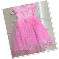 Used Pink Girls Frock size 2-4 yr old ♥️ in Dubai, UAE