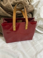 Used Louis Vuitton Red Monogram Vernis Reade in Dubai, UAE