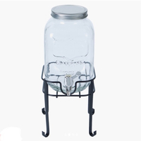 Used Beverage dispenser with metal stand in Dubai, UAE