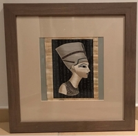 Used Queen Nefertiti papyrus  in Dubai, UAE
