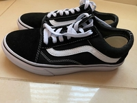 Used Vans shoes (black and white)  in Dubai, UAE