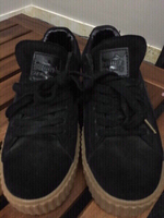 Used Men Puma black shoes in Dubai, UAE