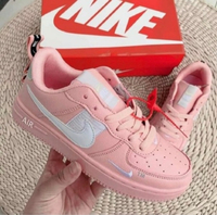 Used Nike Air Force pink size 39, new in Dubai, UAE