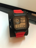 Used skime RED watch 50m waterproof  in Dubai, UAE