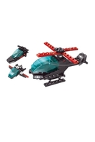 Used Building blocks helicopter 77pc for kids in Dubai, UAE