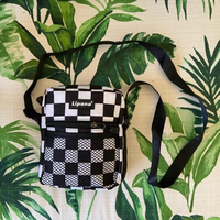 Used 🏁 unisex checkered messenger bag (new) in Dubai, UAE
