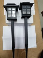 Used Solar garden lights in Dubai, UAE