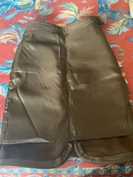 Used Genuine leather skirt form Florence in Dubai, UAE