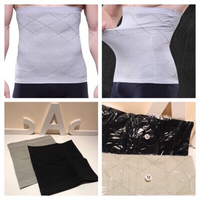 Used Body shaper for men 2 pcs black&grey in Dubai, UAE