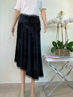 Used Black velvet skirt size S in Dubai, UAE