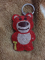 Used the toy story bear keychain in Dubai, UAE