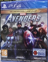 Used Marvel's Avengers Deluxe Edition PS4/PS5 in Dubai, UAE