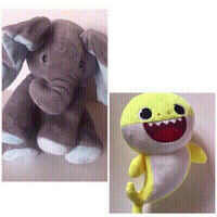 Used Battery operated stuffed toys 🧸 (new) in Dubai, UAE
