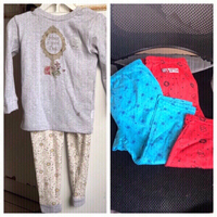 Used New giggles girls set with 2cotton pants in Dubai, UAE