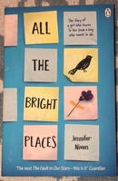 Used ALL THE BRIGHT PLACES book by Jennifer N in Dubai, UAE
