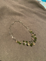 Used Pure silver 924 Italian necklace. New  in Dubai, UAE