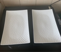 Used Large plates 2pcs for serving  in Dubai, UAE