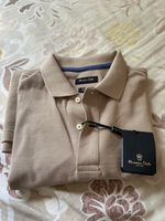 Used Massimo dutti polo t-shirt beige New in Dubai, UAE