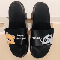 Used Panda slippers size 40-41 in Dubai, UAE