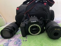 Used canon 750d with 18/55 lens and 75/300  in Dubai, UAE