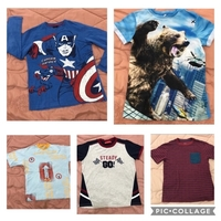 Used Bundle of 5 T-shirts for boys in Dubai, UAE