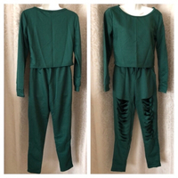 Used Fashion ripped Tracksuit size S in Dubai, UAE