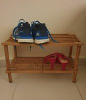 Used Small wooden Shoe Stand in Dubai, UAE