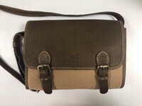 Used Leather and Fabric Handbag in Dubai, UAE