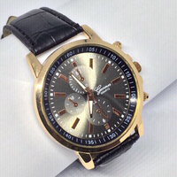 Used Geneva Casual Quartz Wrist Watch for men in Dubai, UAE