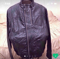 Used Leather jacket puma Authentic New in Dubai, UAE