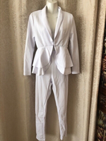 Used White outfit jacket and pants size S in Dubai, UAE