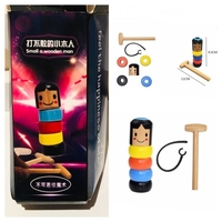 Used Wooden magic man toy in Dubai, UAE