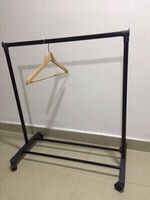 Used easy-to-assemble BABY clothes rack in Dubai, UAE