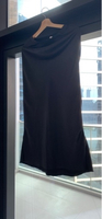 Used Black satin skirt  in Dubai, UAE